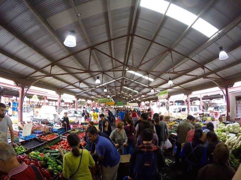 Il mercato Queen Victoria a Melbourne