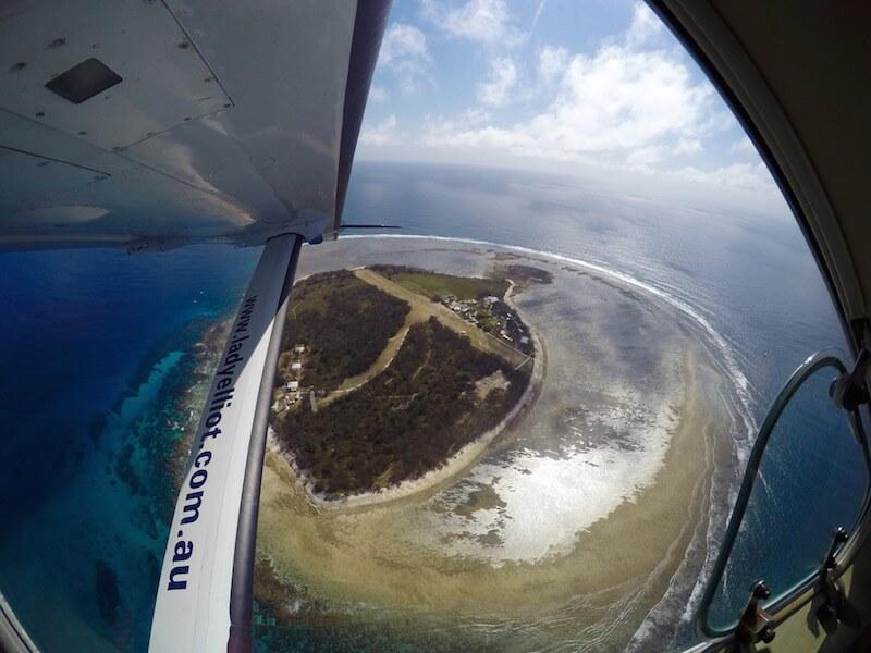 L'isola di Lady Elliot sulla Grande Barriera Corallina