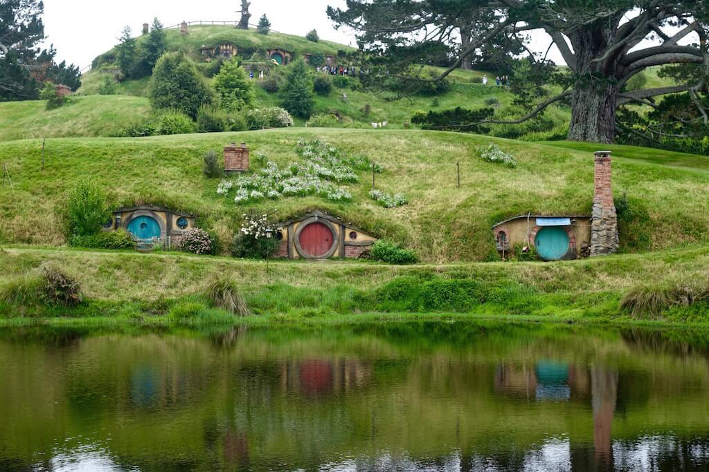 Hobbiton il set del signore degli anelli