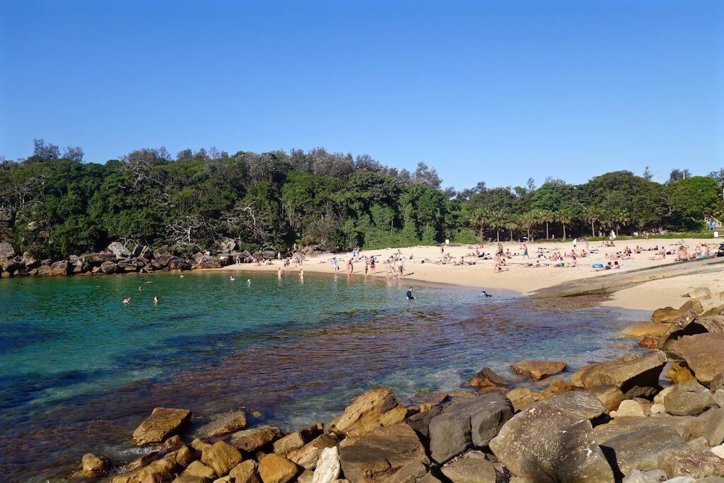 Spiaggia a Manly a Sydney