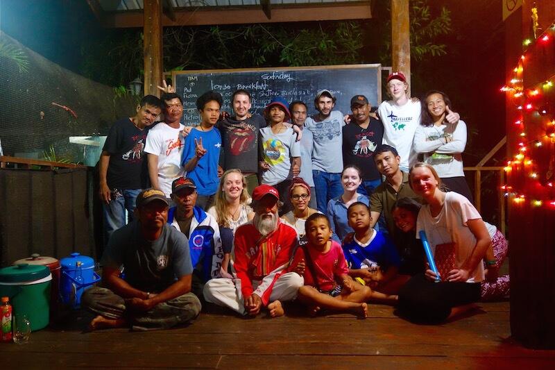 Foto di gruppo al surin project