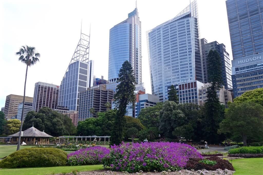 I giardini botanici di Sydney