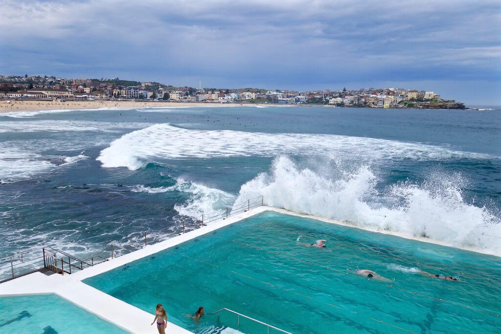 Le piscine sul mare di Sydney