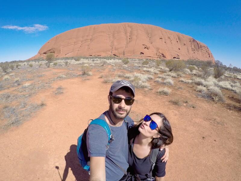 L'Uluru in Australia