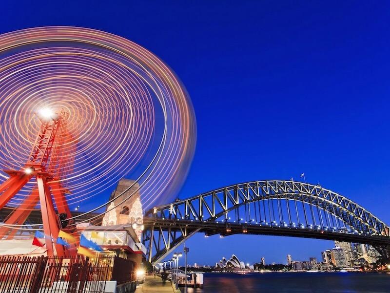 Il parco giochi di Sydney