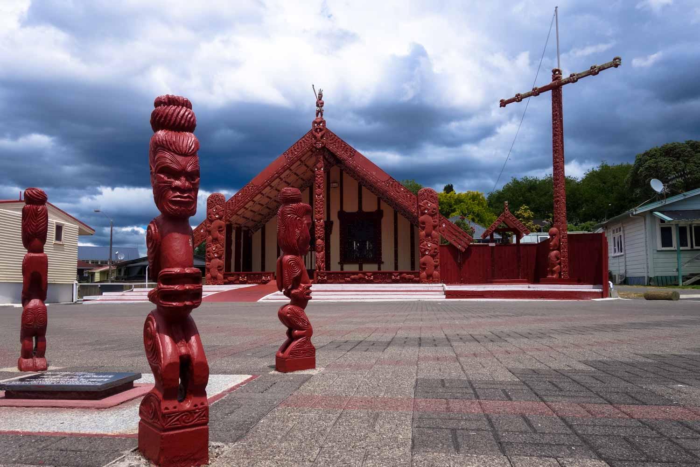 villaggio maori
