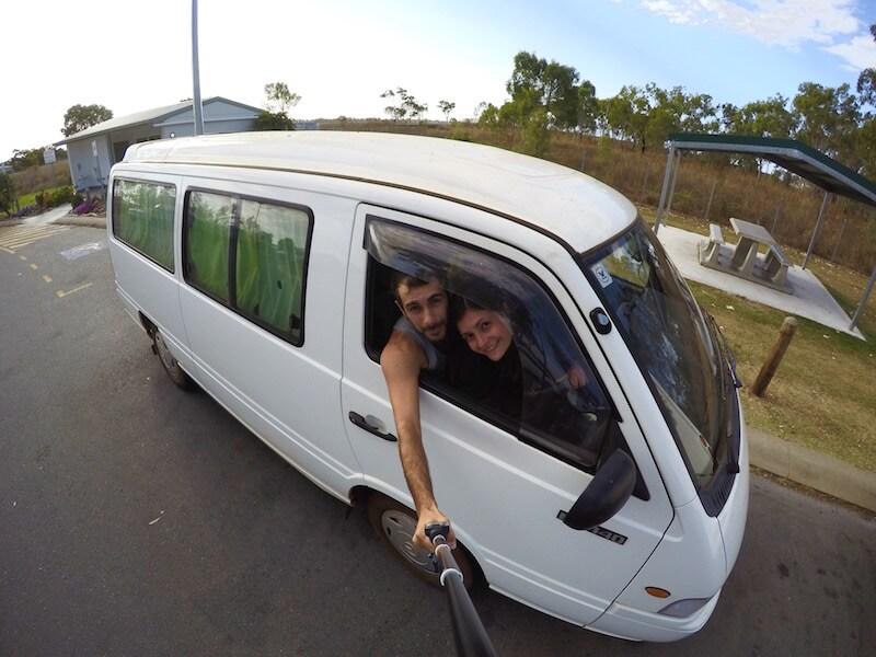 Il van che abbiamo comprato in Australia