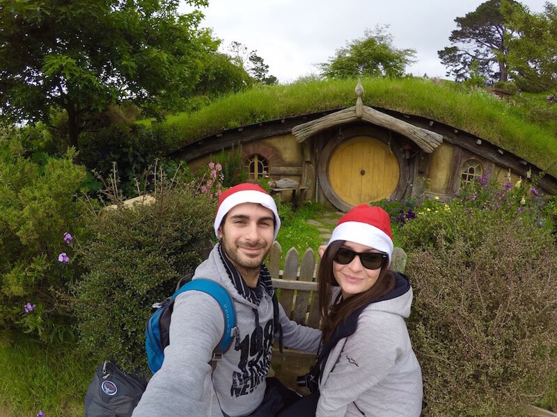 L'Hobbiton Movie set