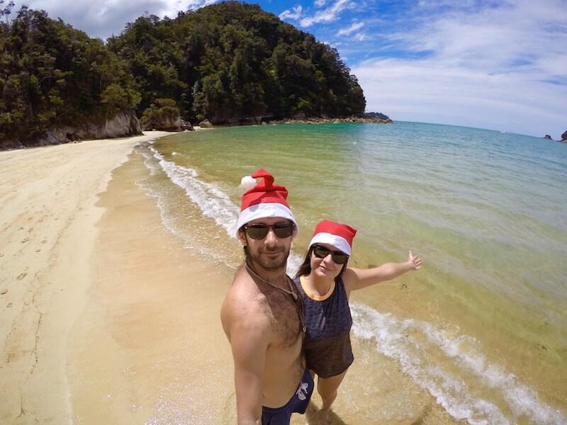 Spiaggia nell'Abel Tasman