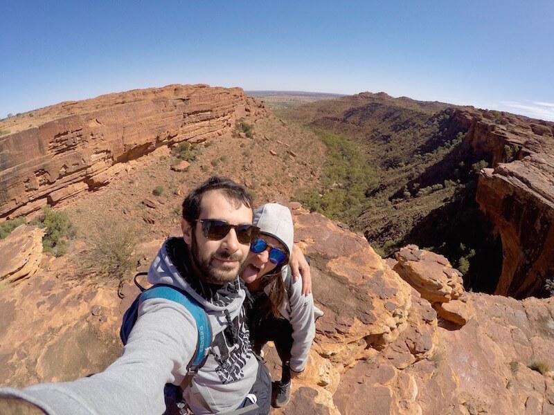 Vista sul kings canyon