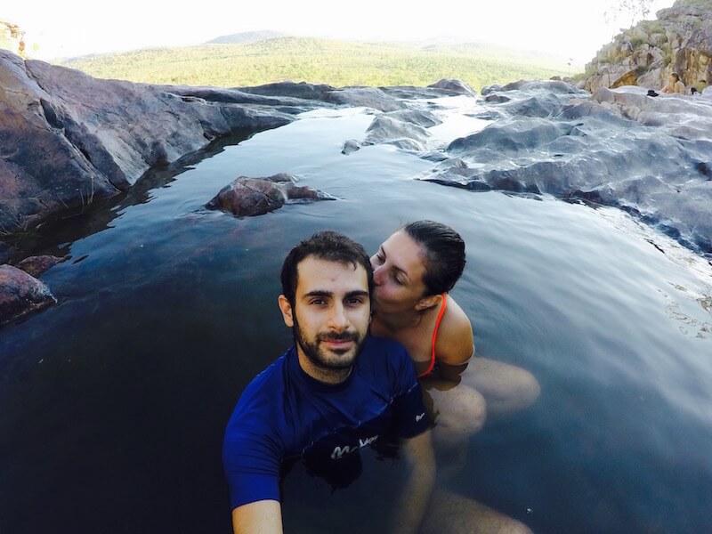 Le Gullom Falls nel Kakadu