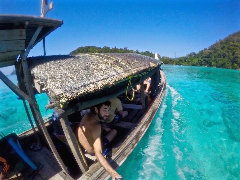 L'acqua delle Surin Island