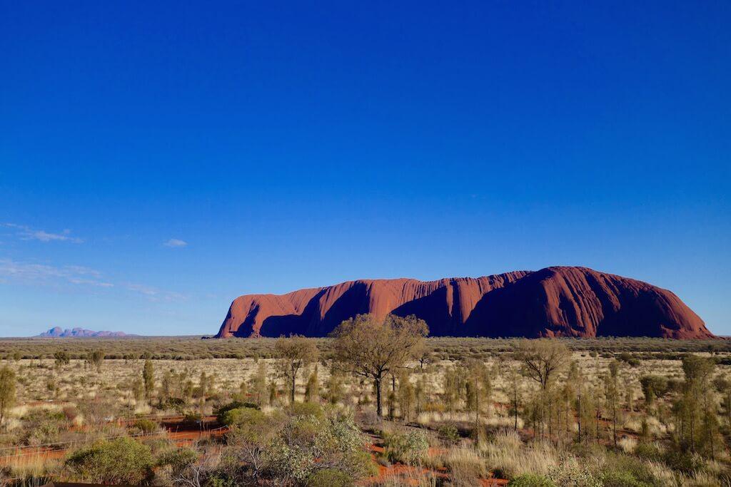 L'alba a Uluru