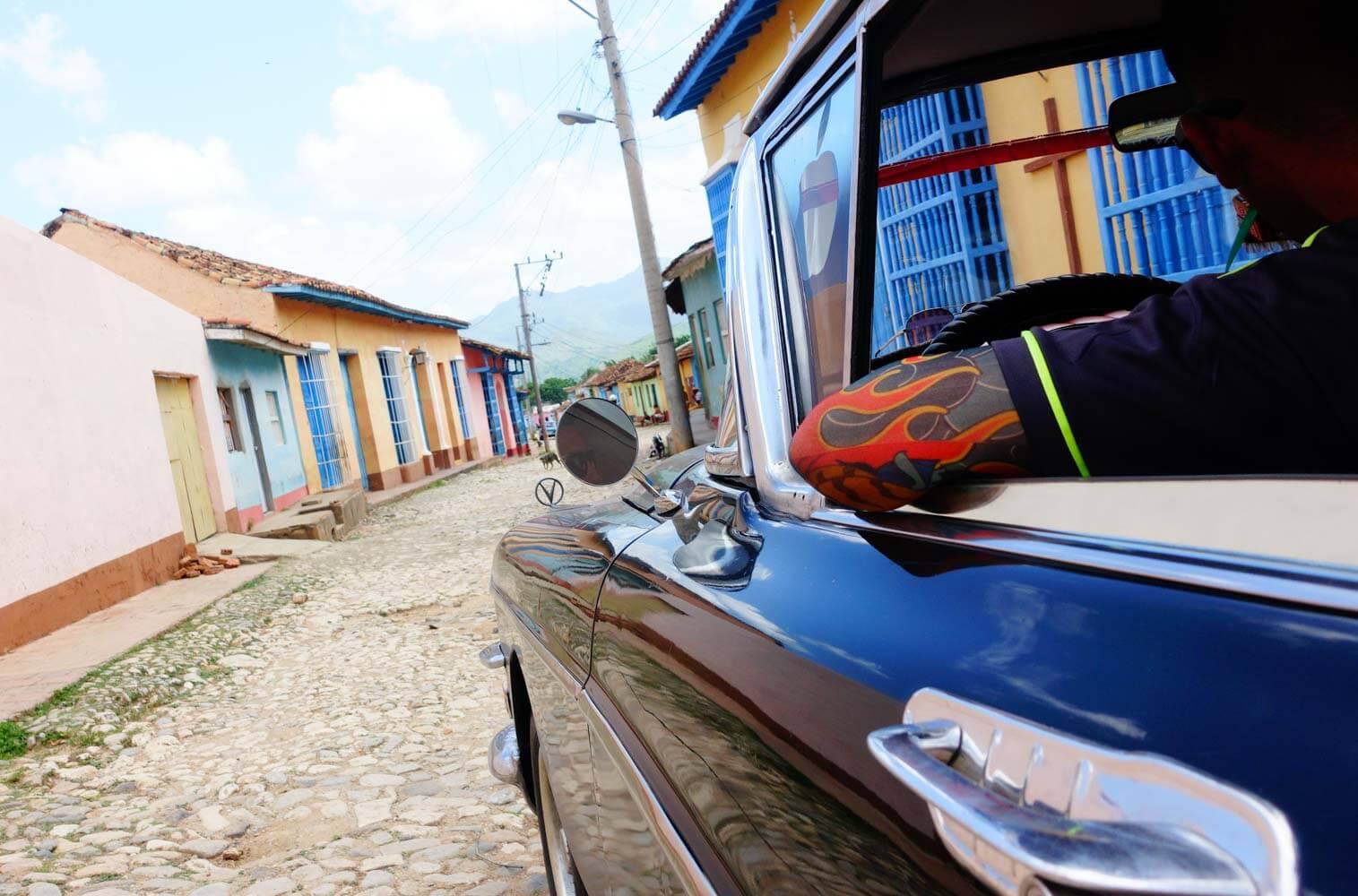 foto tassista a cuba