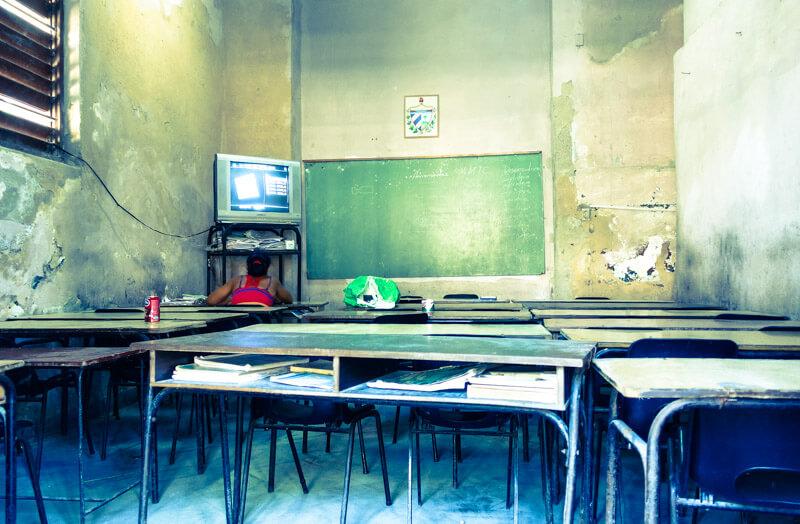Una scuola a Cuba