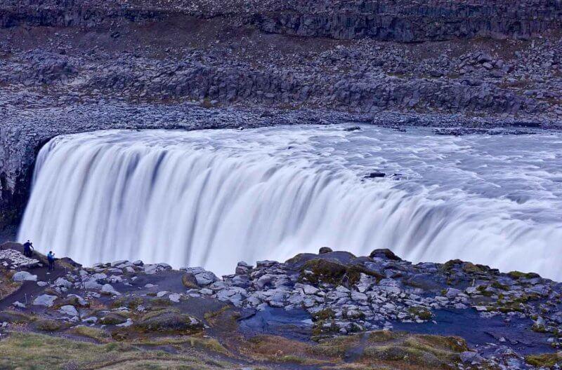 Islanda cascata Detifoss