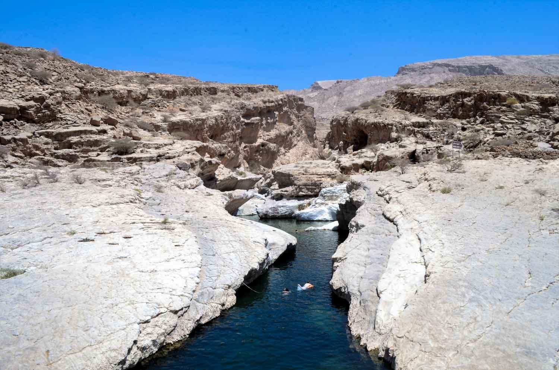 Wadi in Oman