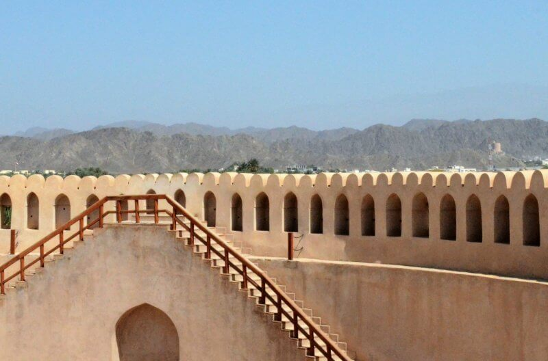 Forte di Nizwa in Oman