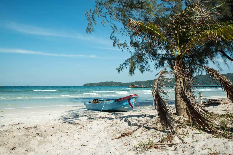 Spiaggia di Koh Rong Samloen