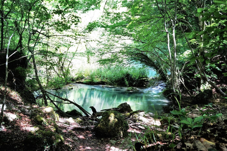 Sorgente del fiume Urederra