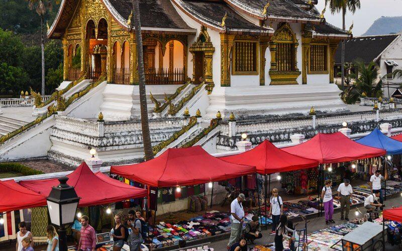 Mercato di Luang Prabang