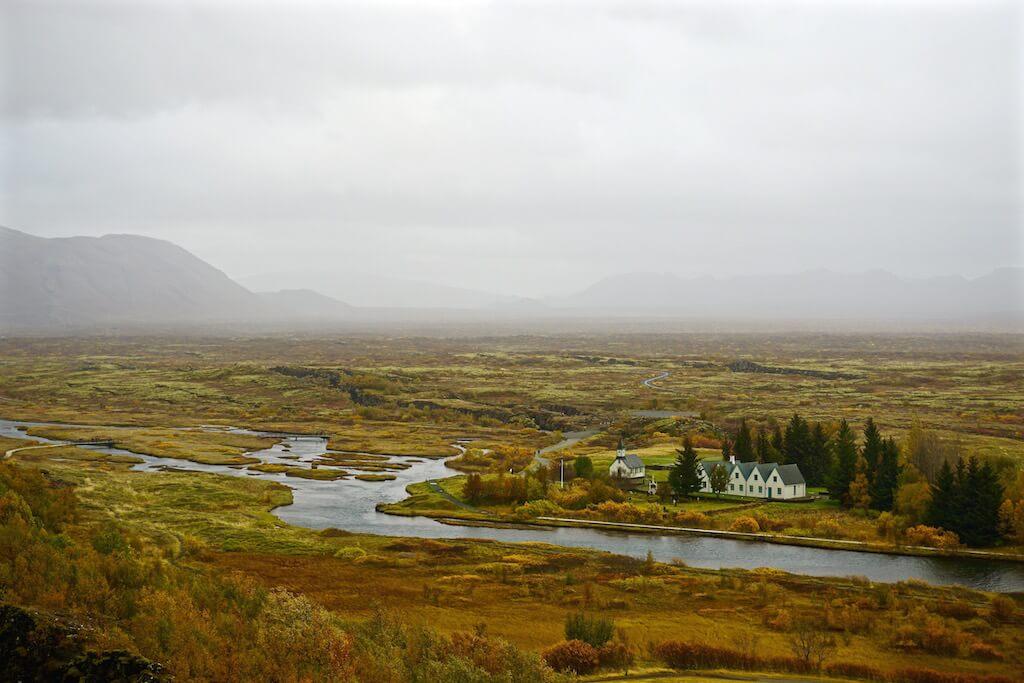 Thingvellir Islanda