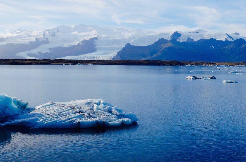 Laguna Jokurskarlon Islanda