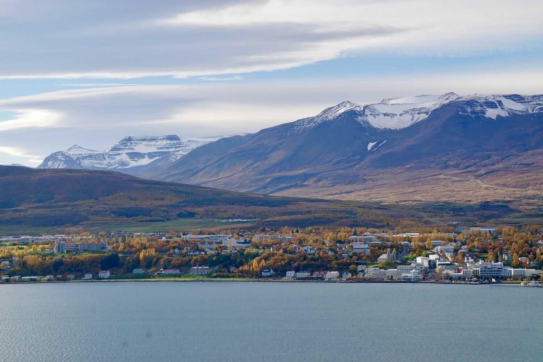 Akureyri nord islanda